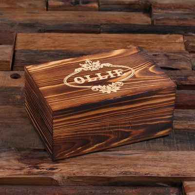 Brown Wooden Box