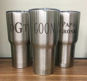 Engraved Stainless Steel Yeti Mug