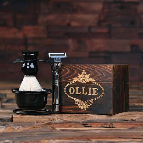 Personalized Shave Kit Combo Set