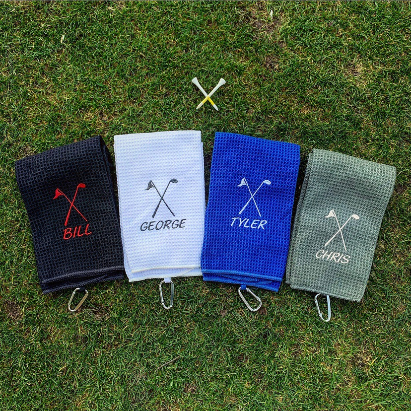 Un-FORE-gettable Golf Towel