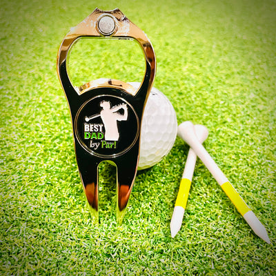 Best Dad by Par Golf Tool