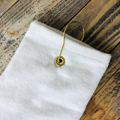 Embroidered Golf Towel Hook