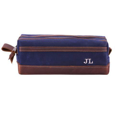 Blue Personalized Travel Kit