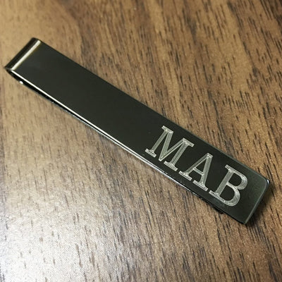 Engraved Tie Bar