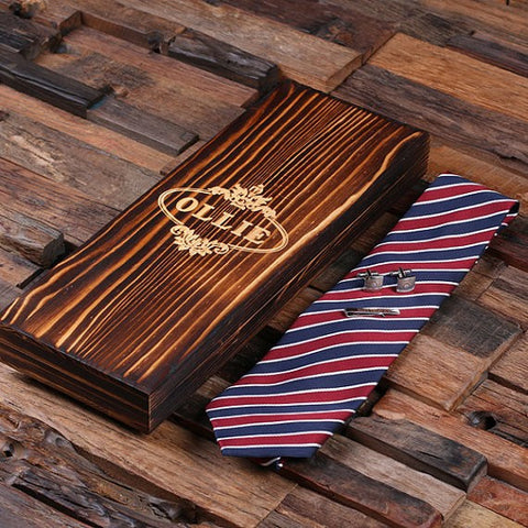 Personalized Tie Combo Set