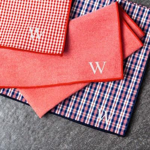 Personalized Handkerchief Trio