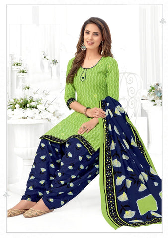 Women's Cotton Printed Unstitched Dress Material Pranjul -1008