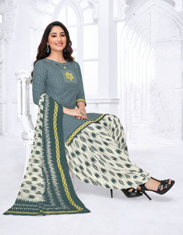 Women's Cotton Printed Unstitched Dress Material Pranjul -1009