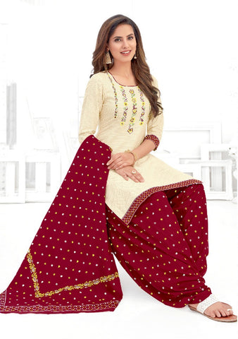 Women's Cotton Printed Unstitched Dress Material Pranjul -1011