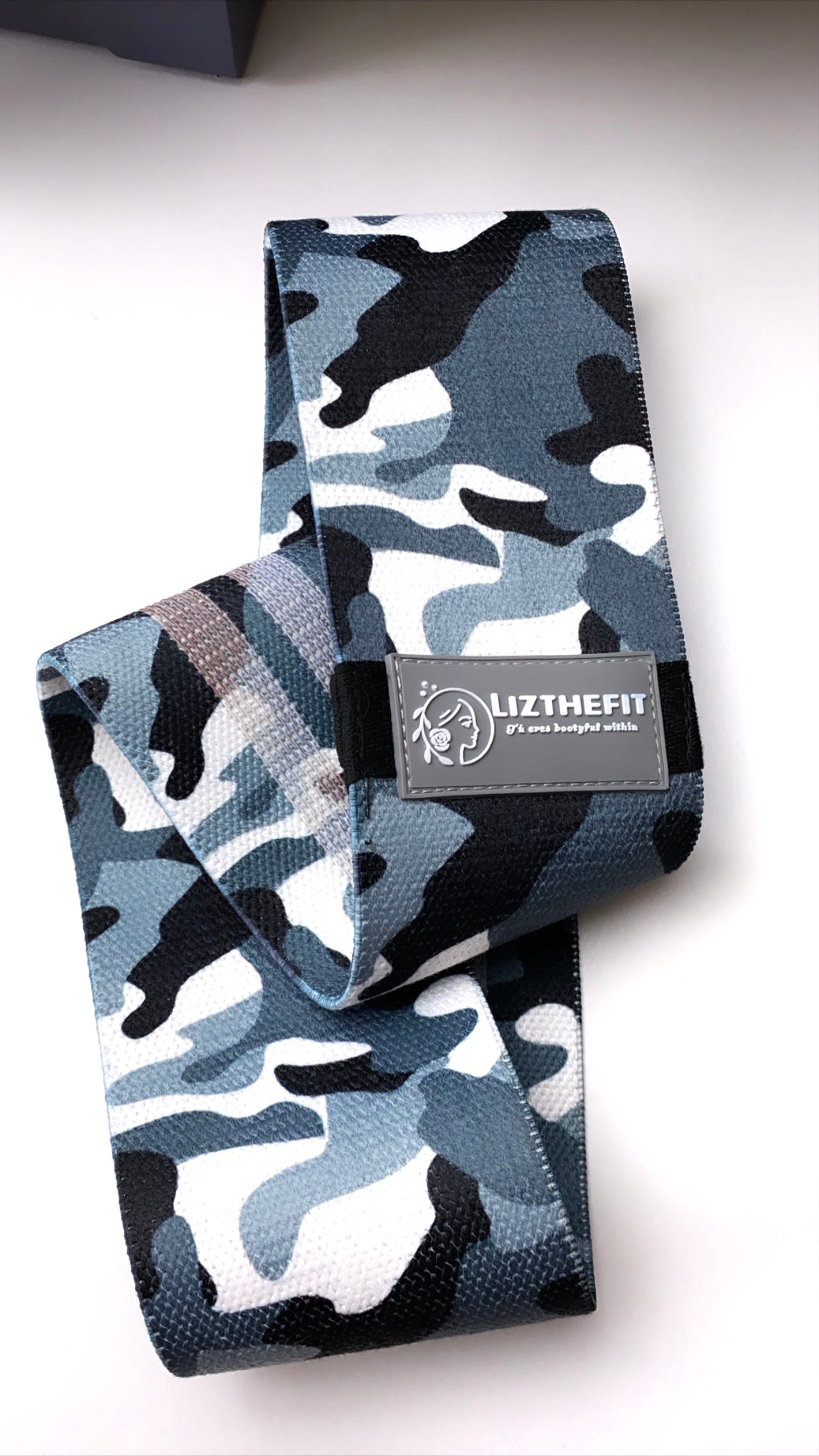 NAVY GREEN CAMO PRINT (MEDIUM RESISTANCE)