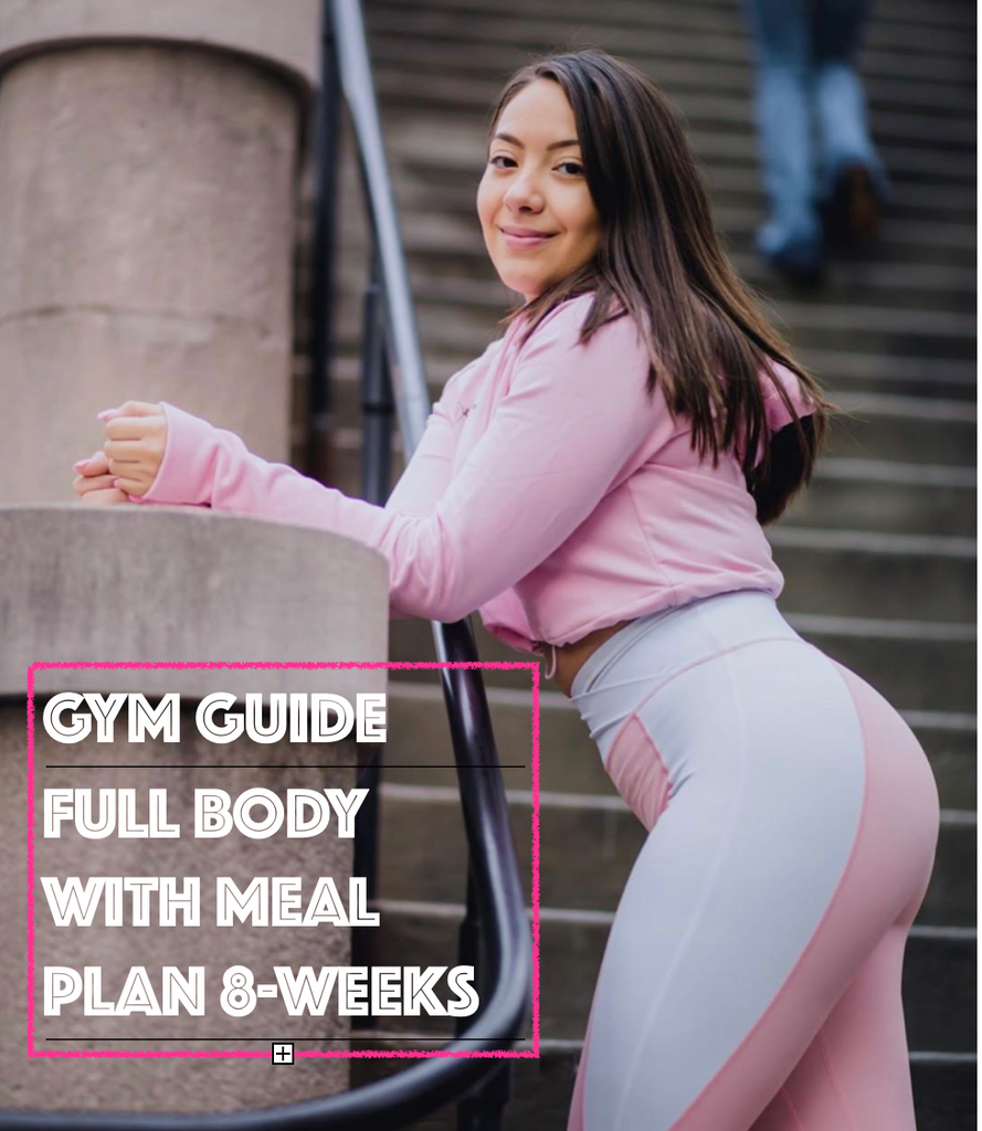 #1 Selling Guide Full Body Gym Guide - LIZTHEFIT