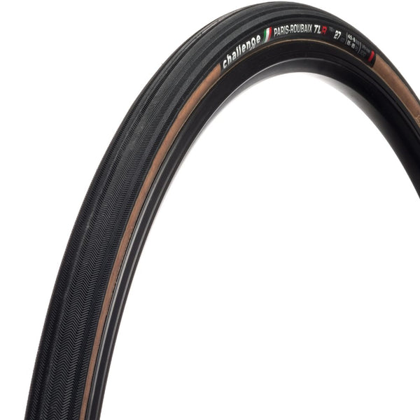 Challange Paris Roubaix vulcanised tubeless TLR tyre 700x27c
