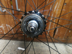 BORG22 track Fixed gear/single speed  wheelset - rim brake