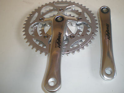 Stronglight impact triple chainset 165mm 170mm 172.5mm 175mm