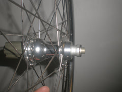 H Plus Son Archetype wheelset with silver Novatec A171/F172 hubs