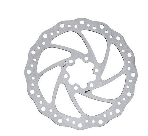Baradine Steel Disc 6 Bolt Bicyle Brake Rotors, 140mm, 160mm and 180mm