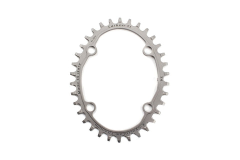 Carbon ti X-SyncroCam Ti single speed/narrowwide asymmetric MTB chainring
