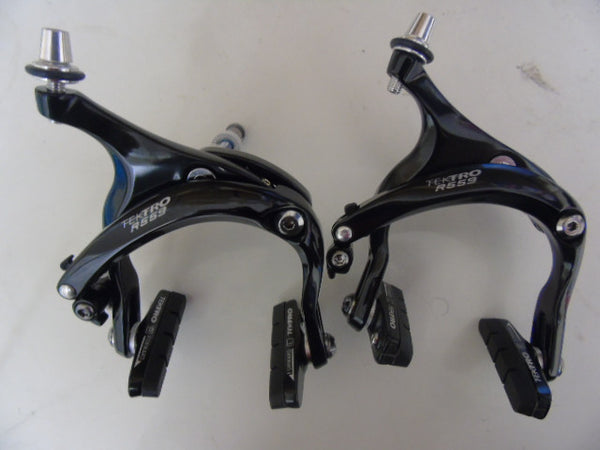 Black Tektro R559 brake calipers 55-73mm drop recessed allen key fitting