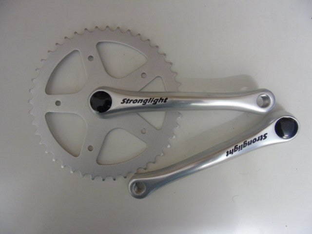 Stronglight 55S single speed chainset
