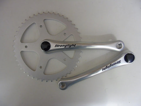Stronglight 55S single ring chainset