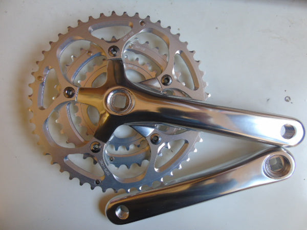 Andel RSC6 road/touring chainset triple 170mm 48/36/26T  - square taper