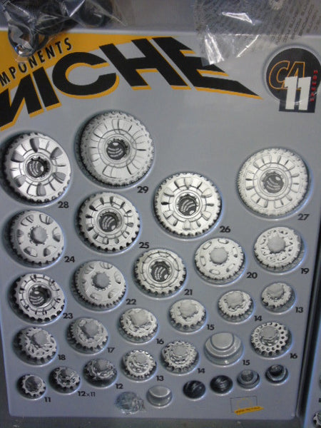 Miche 11 speed individual cassette sprockets for campagnolo