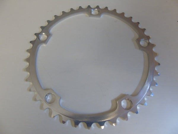 Campagnolo chainrings silver 10 seed Record 135 BCD