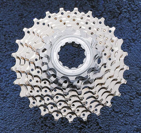 Shimano HG50/HG300 9 speed cassette all ratios