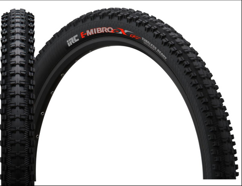 "IRC E-Mirbo -X 27.5x2.40"" tubeless trail tyres"
