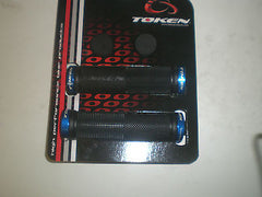 Token Lock on MTB Grips 130mm black, blue, silver, gold, pink, green, red