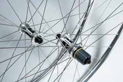 BORG22 all weather tubeless ready clincher 700c wheelset - Shiney silver