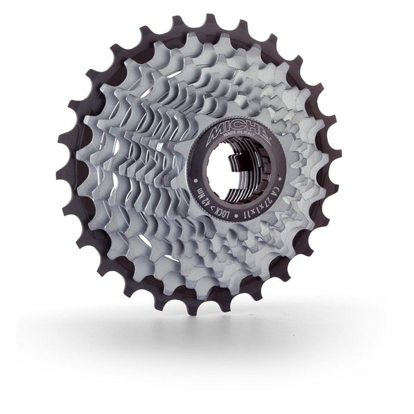 Miche 11 speed Primato Light cassettes for Campagnolo 11T to 18T start sprockets and 21T to 32T final sprockets