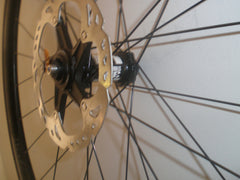 Handbuilt Velocity Aileron road/CX disc brake only wheelset