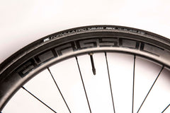 BORG50C Carbon Clinchers Tubeless ready 20F/24R 2:1 with BORG wheels hubs 26.2mm wide