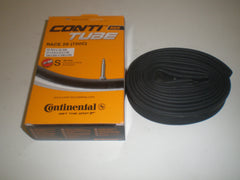2x Continental Race 28 inner tubes 42mm, 60mm and 80mm presta valve.
