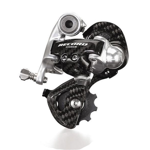 Campagnolo Record 10 speed Titanium rear derailleur