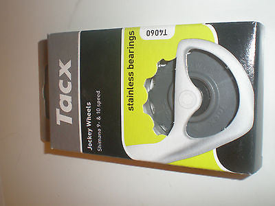 Tacx jockey wheels Shimano 9x 10x Campag 11x  stainless steel bearings T4060