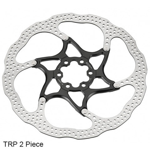 Tetkro/TRP disc brake rotors 6 bolt two piece