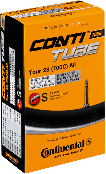 continental Tour 28 inner tubes