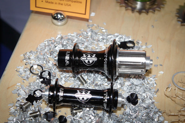 White Industries T11 front and rear hubs