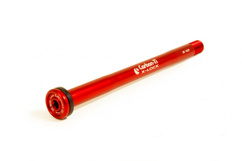 Carbon Ti X-Lock X-12 142x12mm rear thru axle.