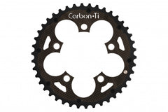 Carbon Ti X-Ring MTB Al/Carbon EVO chainrings (aluminium/carbon)