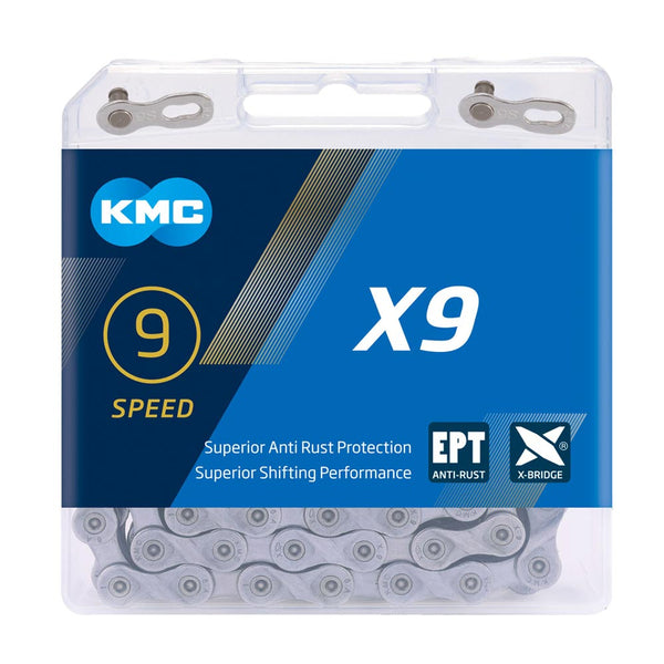 KMC X9 EPT 9 speed chain