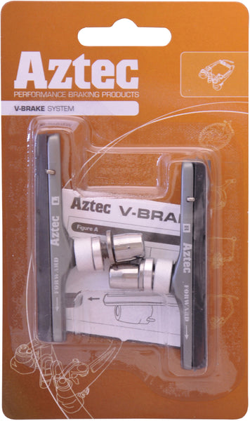 Aztec V-brake cartridge system brake blocks standard