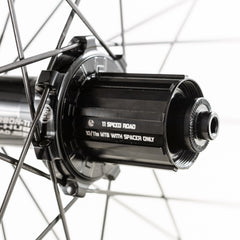 BORG22 (light) tubeless ready wheelset - black or colours.
