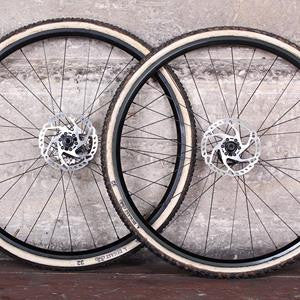 BORG22T Disc Road/CX tubular tyre disc brake wheelset