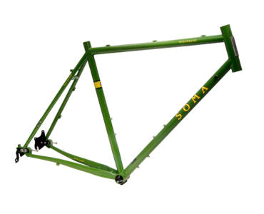 Soma Wolverine type B v4 adventure/gravel frame and fork