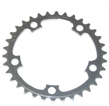 Stronglight Dural 5 arm chainrings 110mm and 130mm BCD inner