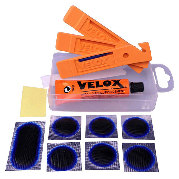 Velox puncture repair kit.