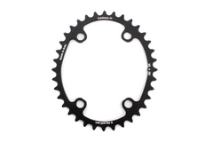 Carbon Ti Road Cam chainring outer and inner ring.